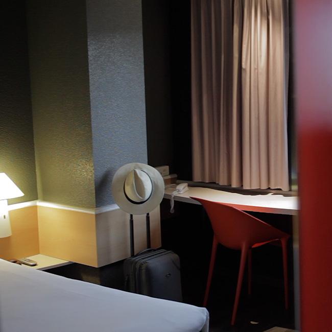 Fragmento video publicitario en Salamanca para Ibis Hoteles
