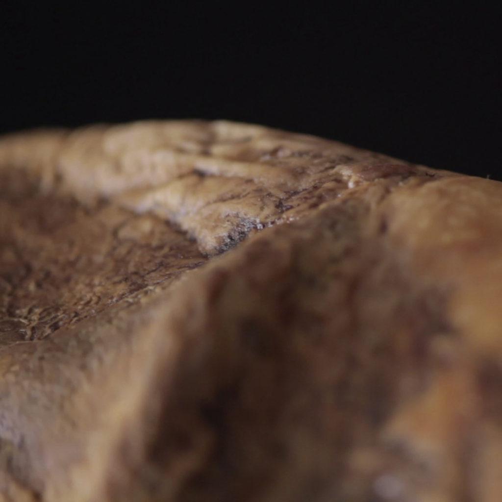 Imagen de un jamón del anuncio de Jamones Blázquez por Carlos Lorenzo, Salamanca